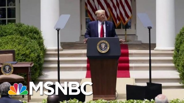 Sherrilyn Ifill: Trump Is Late To The Party On Police Reform | Morning Joe | MSNBC 1