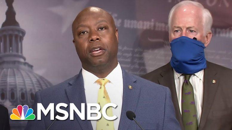 'We Hear You': Sen. Scott Discusses Republican Police Reform Bill   MSNBC 1