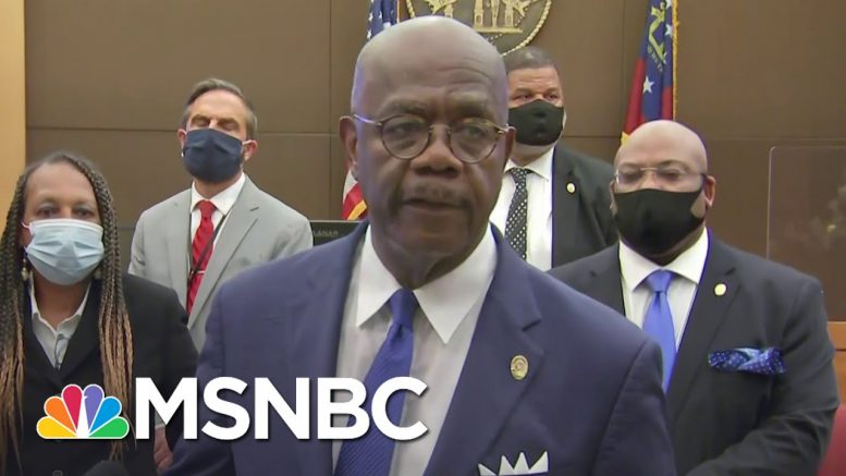 Former Atlanta Officer Charged With Felony Murder In Death Of Rayshard Brooks | MSNBC 1