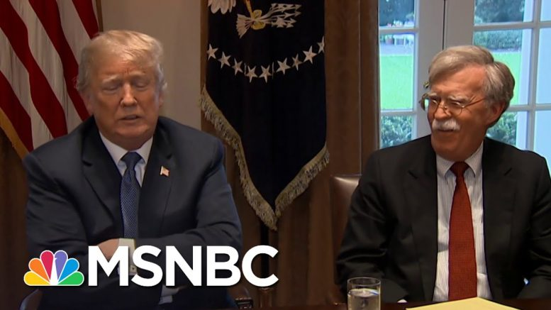 NY Times Reporter Who Obtained John Bolton's Book Ahead Of Release Discusses What's Inside | MSNBC 1