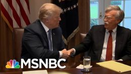 Bolton Blames Democrats For Failed Impeachment Despite Refusing To Testify | All In | MSNBC 7