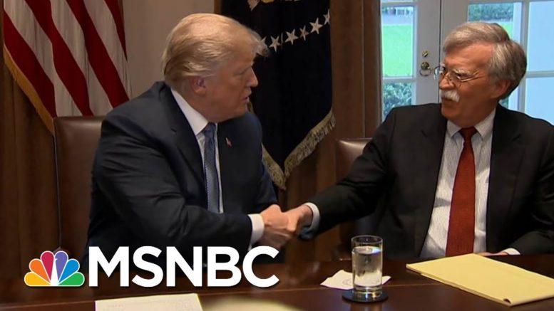 Bolton Blames Democrats For Failed Impeachment Despite Refusing To Testify | All In | MSNBC 1