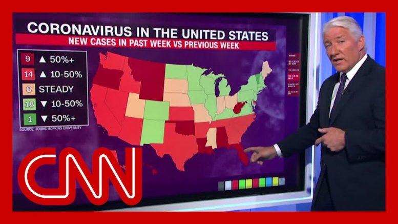 John King breaks down Florida's latest coronavirus case spike 1