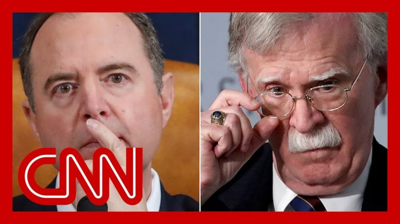'Quite a charade': Schiff responds to Bolton's accusation on impeachment 1