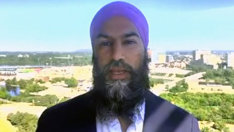 NDP Leader Jagmeet Singh says he stands by calling Bloc MP racist in House 1