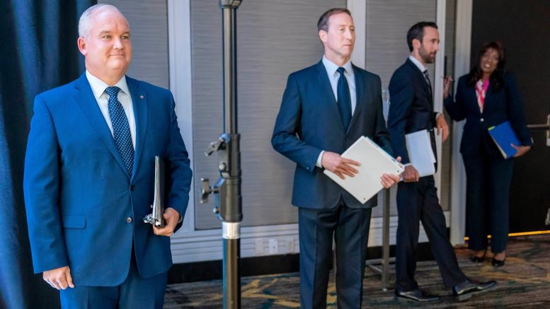 Here's a look at the four remaining Conservative leadership candidates 1