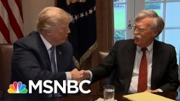 Rucker: Trump Says John Bolton Is A Liar, But Offers No Proof | The 11th Hour | MSNBC 7