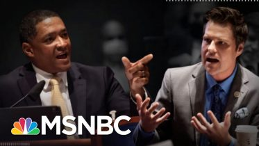 Cedric Richmond Gets In Fiery Exchange With Matt Gaetz Over Race | The 11th Hour | MSNBC 6