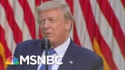 Trump Paints Protesters As A Problem To Be Solved With 'Thousands Of Heavily Armed Soldiers' | MSNBC 2