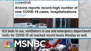 Doctors Shocked As COVID-19 Patients Inundate Emergency Rooms | Rachel Maddow | MSNBC 3