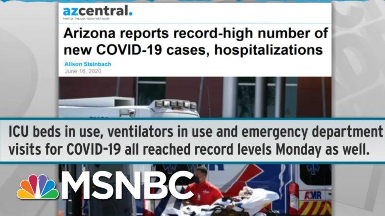 Doctors Shocked As COVID-19 Patients Inundate Emergency Rooms | Rachel Maddow | MSNBC 1