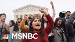 Soboroff: Dreamers Just Want The Only Life They've Ever Known. Now They Get To Live It. | MSNBC 4