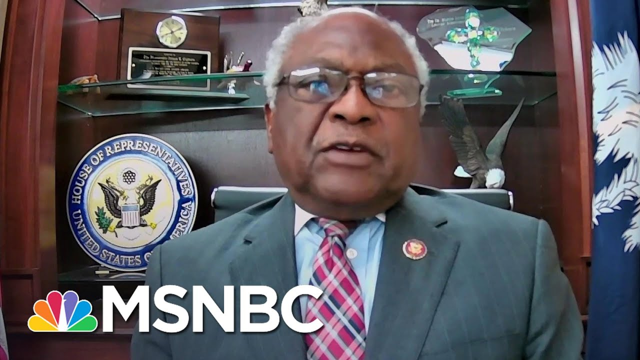 Clyburn On Poverty: 'I'm Tired Of People Telling Me How Much It Costs'   Stephanie Ruhle   MSNBC 4