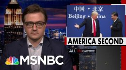 How Trump Misled U.S. On Coronavirus While Seeking Chinese Reelection Help | All In | MSNBC 4