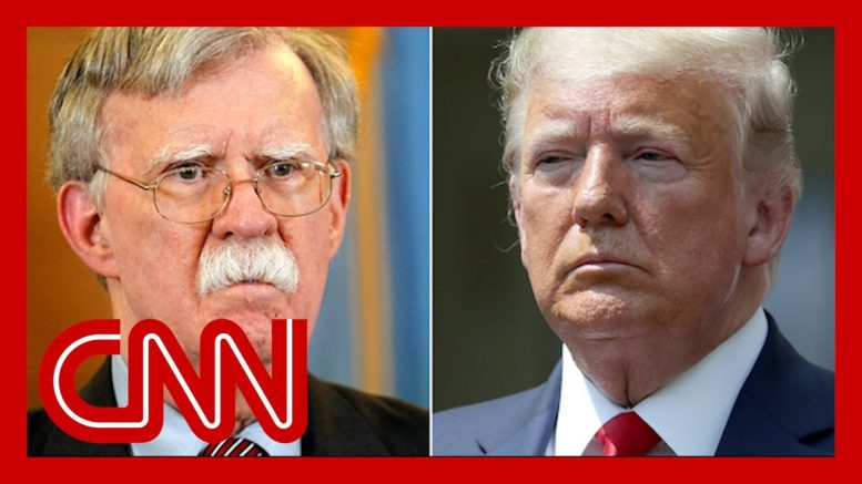 Trump reacts to bombshells from John Bolton's new book 1