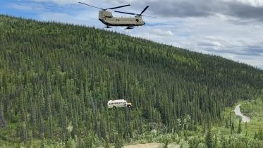 WATCH THIS: Bus from 'Into the Wild' removed from Alaska backcountry 6