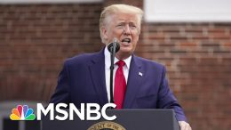 Facing Controversy And A Pandemic, Trump Turns Back To 2020 | The 11th Hour | MSNBC 9