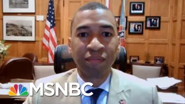 'They'll Understand In The Long Run': Mayor Issues Mask Order | Rachel Maddow | MSNBC 6