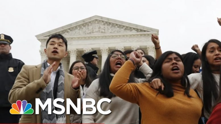 In Surprise Ruling, Supreme Court Says Trump Cannot End DACA - Day That Was | MSNBC 1