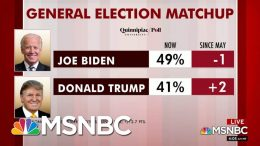 Biden Leads Trump Nationally In Two New Polls | Morning Joe | MSNBC 1