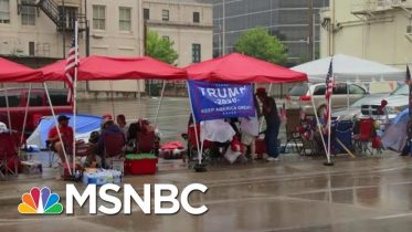 Marc Lotter Defends Trump Tweets: 'President Supports Peaceful Protests' | Hallie Jackson | MSNBC 6