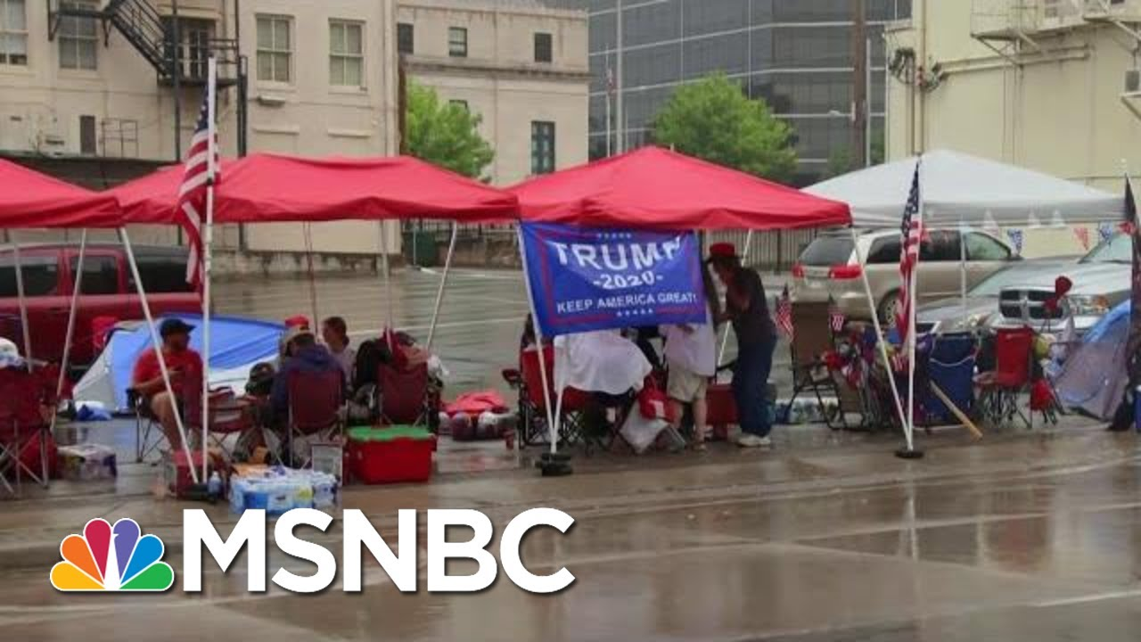 Marc Lotter Defends Trump Tweets: 'President Supports Peaceful Protests' | Hallie Jackson | MSNBC 1