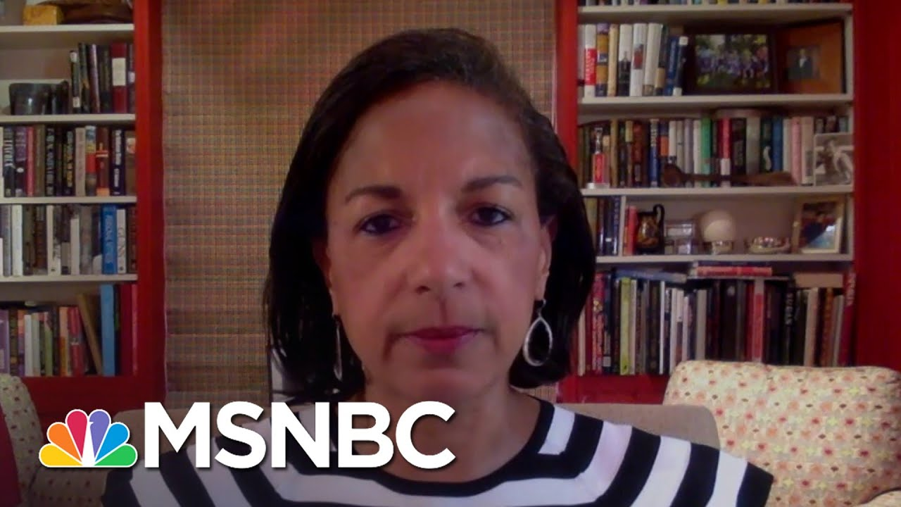 Susan Rice: Trump Administration 'Has Been Racist To Its Core'   Andrea Mitchell   MSNBC 1