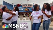 Black-Owned Ice Cream Shop Hit By Pandemic Receives Outpouring Of Support | Andrea Mitchell | MSNBC 4