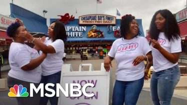 Black-Owned Ice Cream Shop Hit By Pandemic Receives Outpouring Of Support | Andrea Mitchell | MSNBC 6