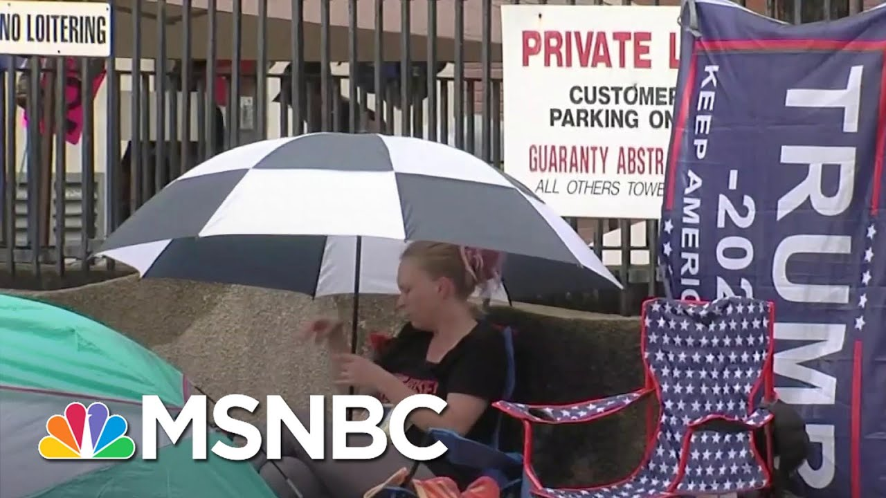 Oklahoma Supreme Court Denies Request To Enforce Safety Requirements At Trump Rally | MSNBC 6