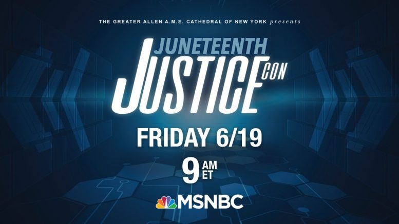 Live:  'JusticeCon: A Path Towards Freedom' Social Justice Conference | MSNBC 1