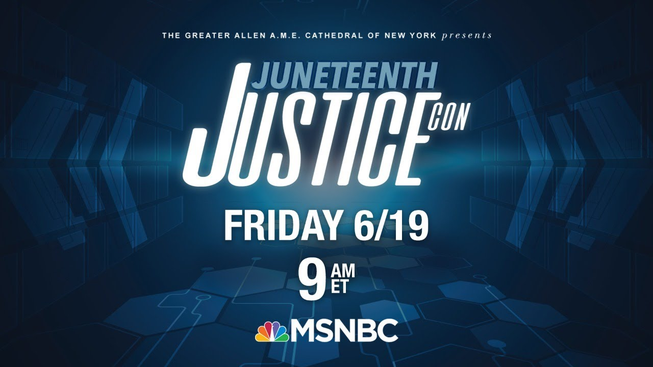 Live: 'JusticeCon: A Path Towards Freedom' Social Justice Conference | MSNBC 9