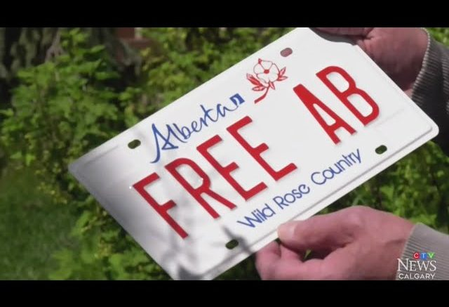 Calgary man wins court case for personalized 'Free Alberta' license plate 1