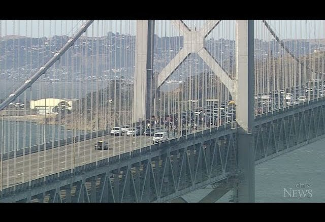 Anti-racism protesters arrested after blocking lanes on San Francisco's Bay Bridge 1