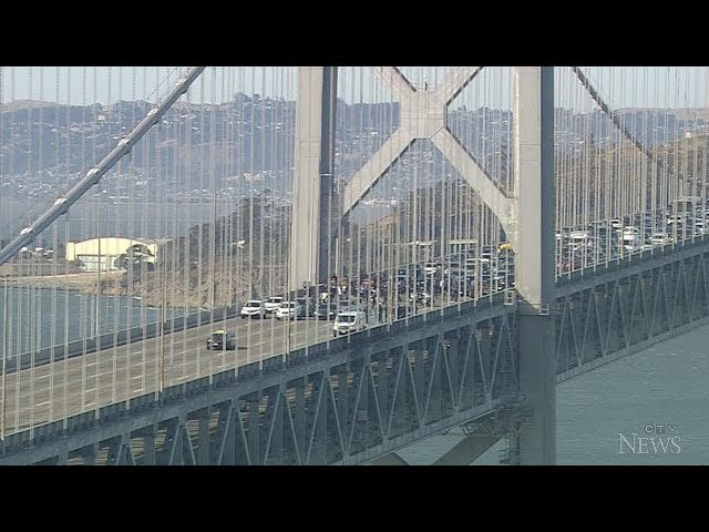 Anti-racism protesters arrested after blocking lanes on San Francisco's Bay Bridge 7