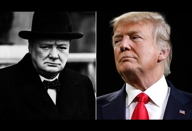 WH says Trump's act was like Churchill. Anderson Cooper isn't buying it 1