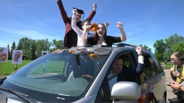 Diplomas with that? 'Drive-thru' grads a sign of the times 6