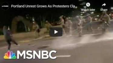 Portland Unrest Grows