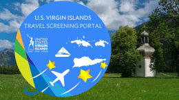 U.S. Virgin Islands Launches Online Portal To Prescreen All Travellers