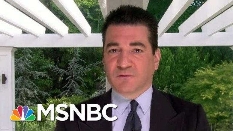 Dr. Scott Gottlieb: Virus Will Accelerate And Get Worse Before It Gets Better | Morning Joe | MSNBC 1