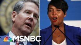 Judge Recuses Herself At Last Minute In Georgia Mask Mandate Case   Craig Melvin   MSNBC 5