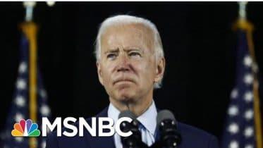 Joe Biden Advisers Say Remarks About VP Shortlist Not 'Definitive' | MTP Daily | MSNBC 6