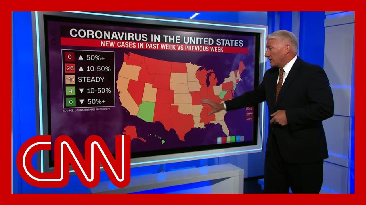 US adds more than 900k coronavirus infections in just 2 weeks 1