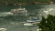 Boat cruise in Niagara Falls show contrast in U.S. measures 3