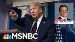 Trump Should 'Take The Next Step' And Issue An Executive Order On Masks | Andrea Mitchell | MSNBC 4