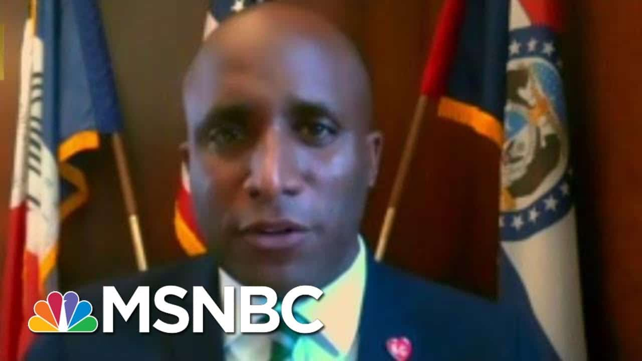 Full KC Mayor: 'Frustrating' To Hear Trump Attack Mayors   MTP Daily   MSNBC 2