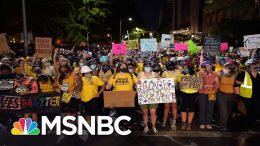 'Wall Of Moms' Organizer In Portland Speaks Out After Teargassing By Federal Agents | All In | MSNBC 4