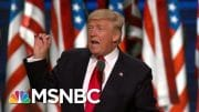 See How Trump Could Lose Re-Election Over 'Law And Order' Police Clash | MSNBC 5