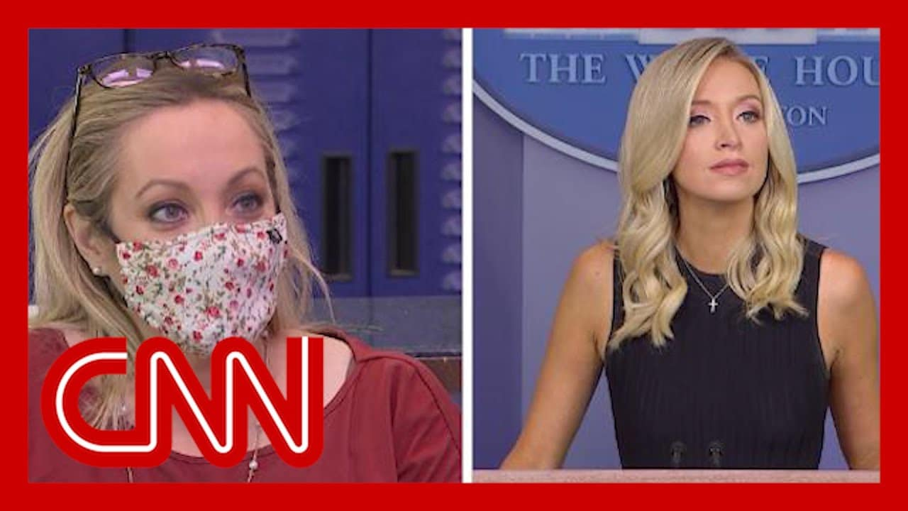 No, this reporter didn't call Kayleigh McEnany a 'lying b**ch' 5