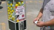 Montreal man selling masks out of gumball machines 3